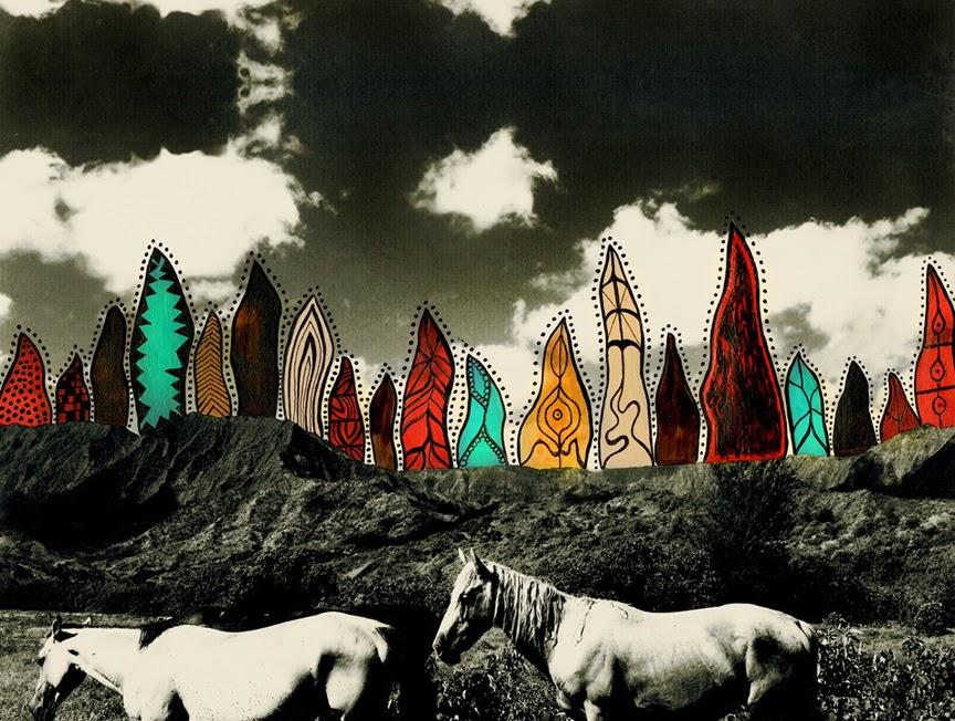 HORSES BY ALEXANDRA VALENTI